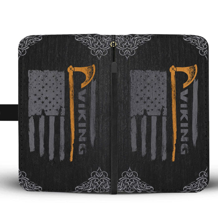 Viking's Axe Wallet Case