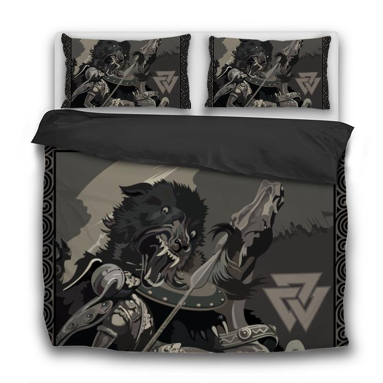 Battle of the God Odin - 3 Pcs Bedding Sets - VikingsBrand