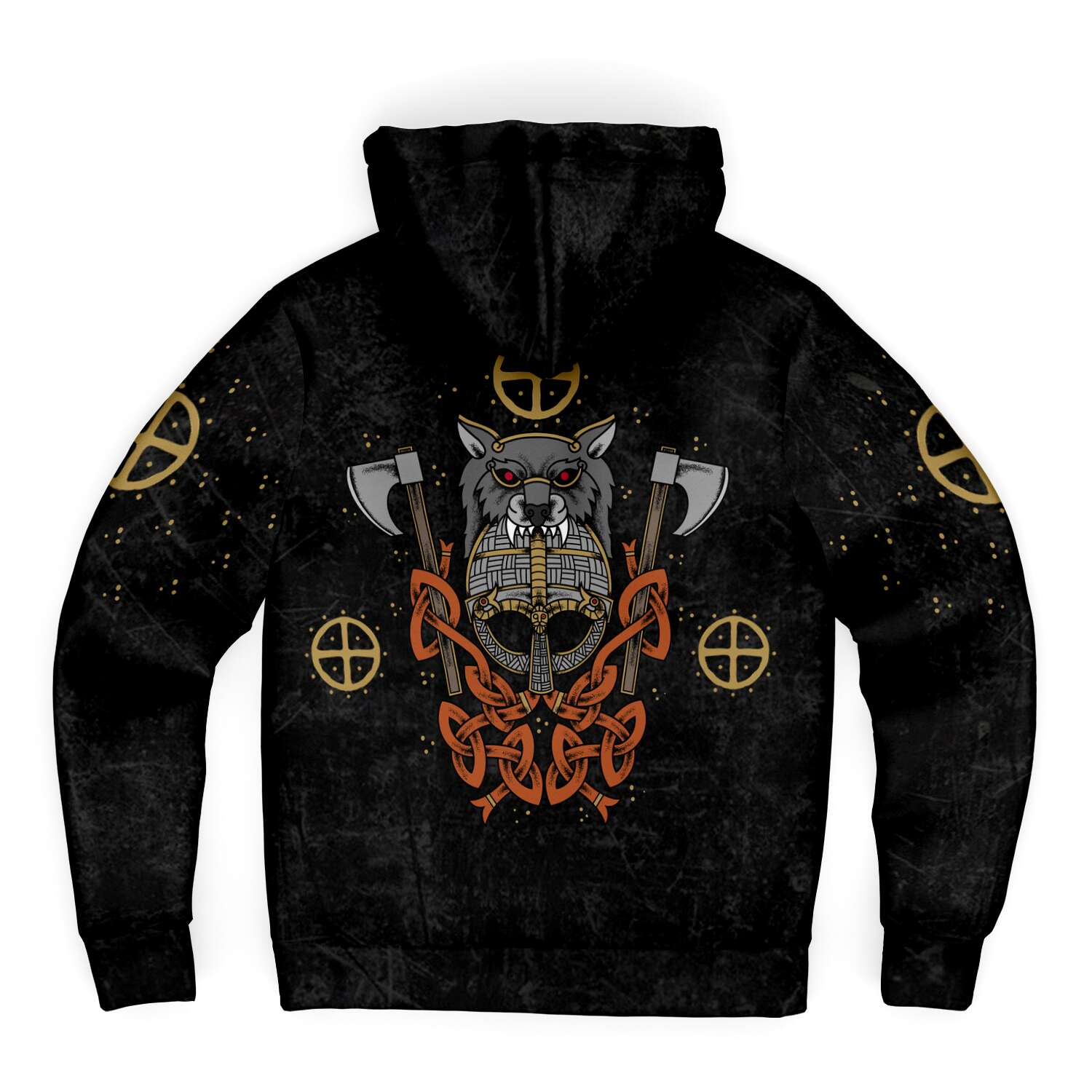 Berserker Microfleece Viking Zip-up Hoodie