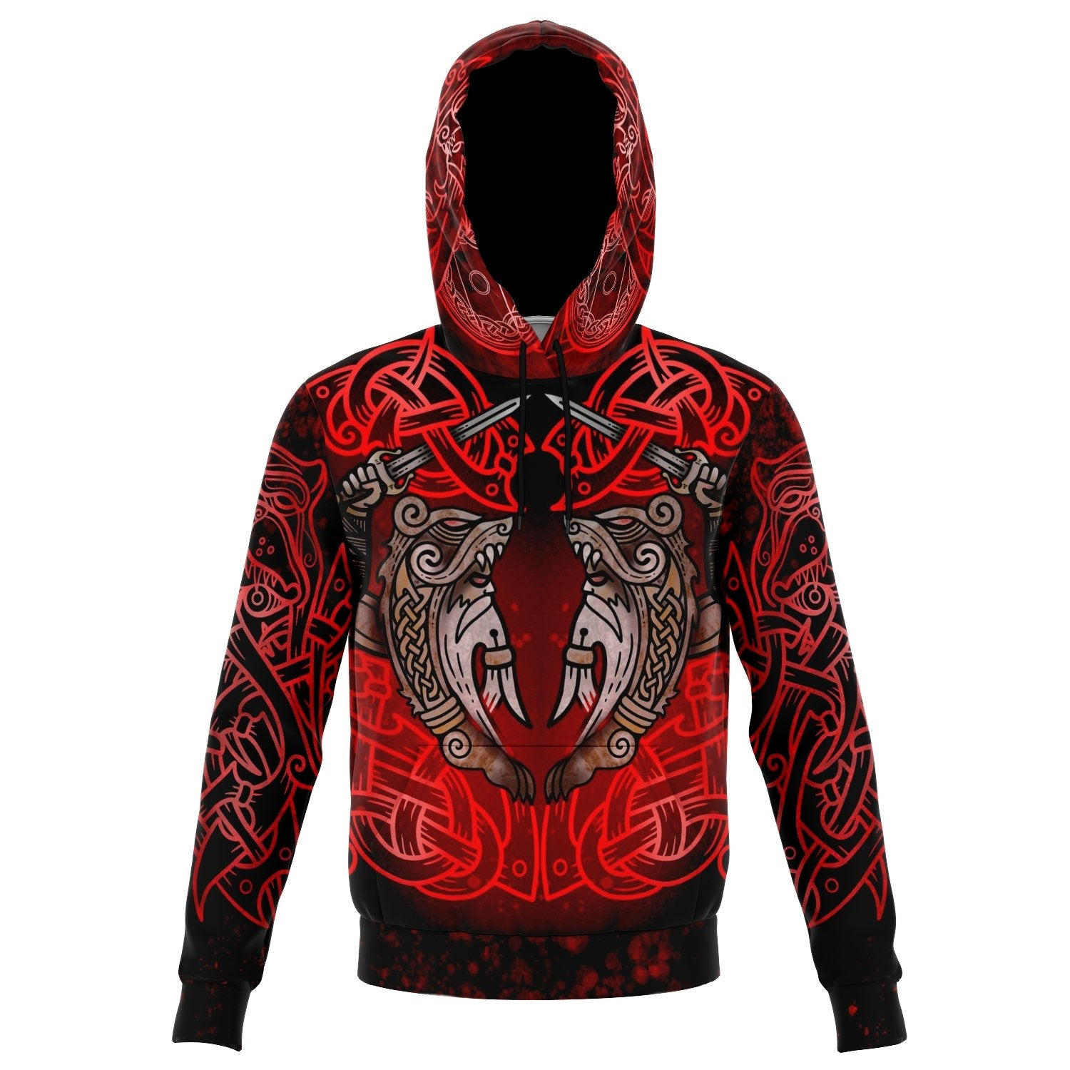 Berserker Warrior Cotton Hoodie