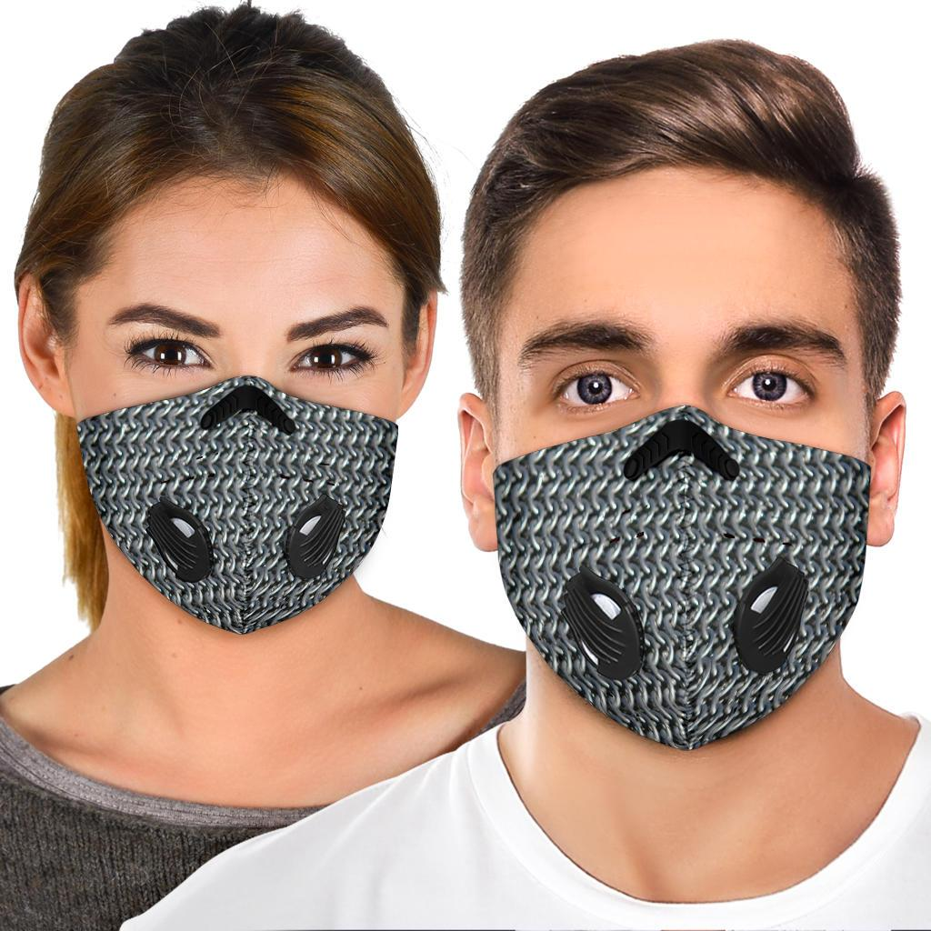 Chain Mail Premium Face Mask