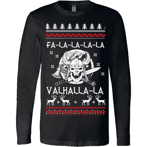 Fa - La - La Valhalla Christmas Sweater