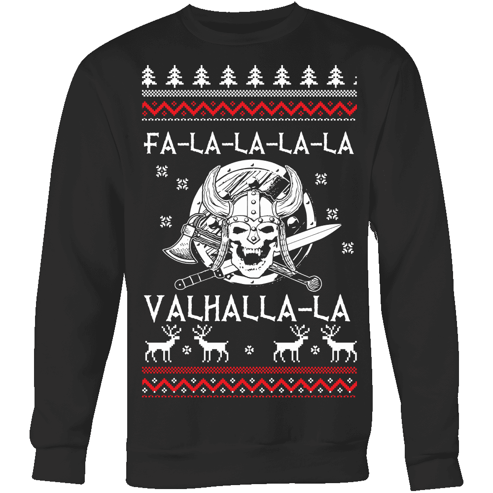 Fa - La - La Valhalla Holiday Sweater