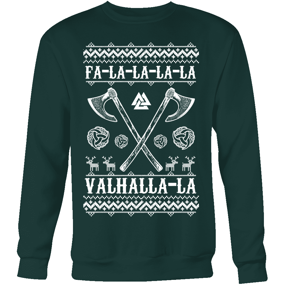 Fa - La - La Valhalla Yule - Christmas Sweater (VB02)