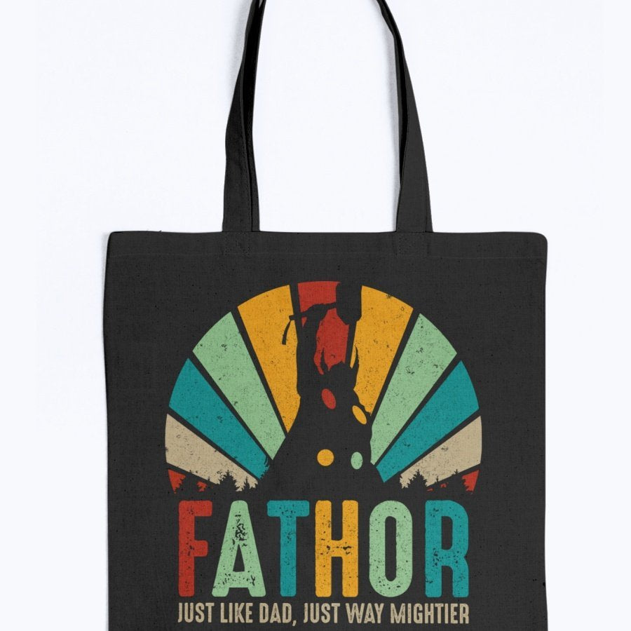 Fathor Tote - Rainbow Colors
