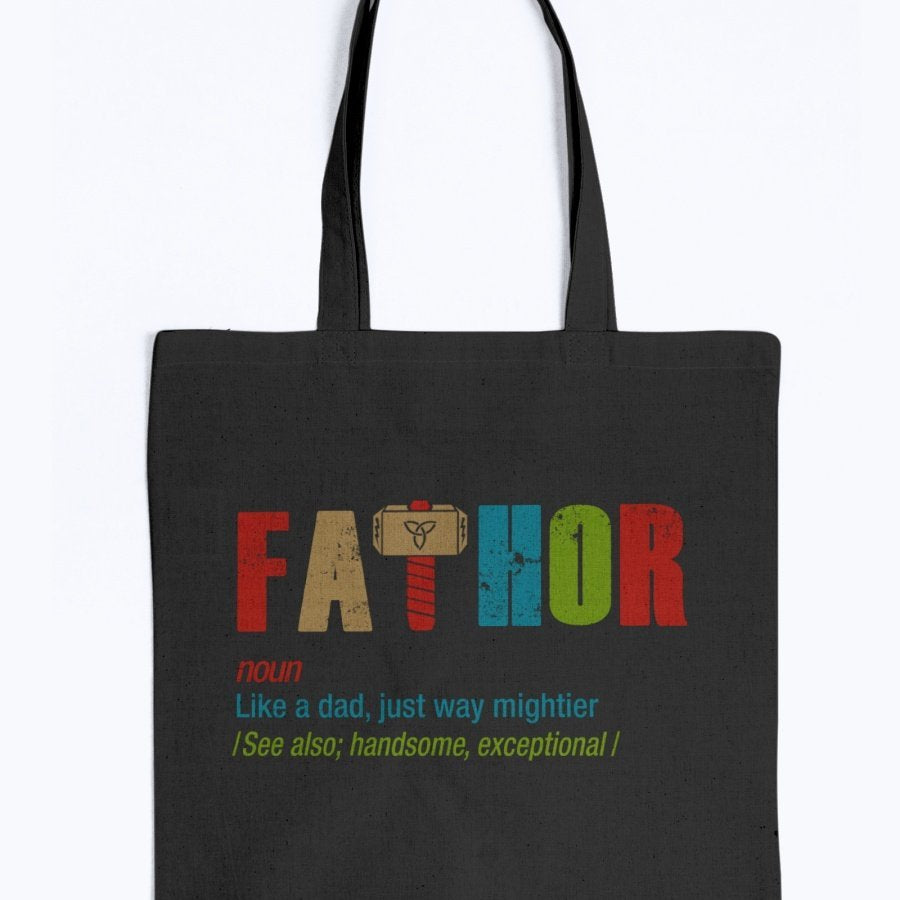 Fathor Tote - Rainbow Edition