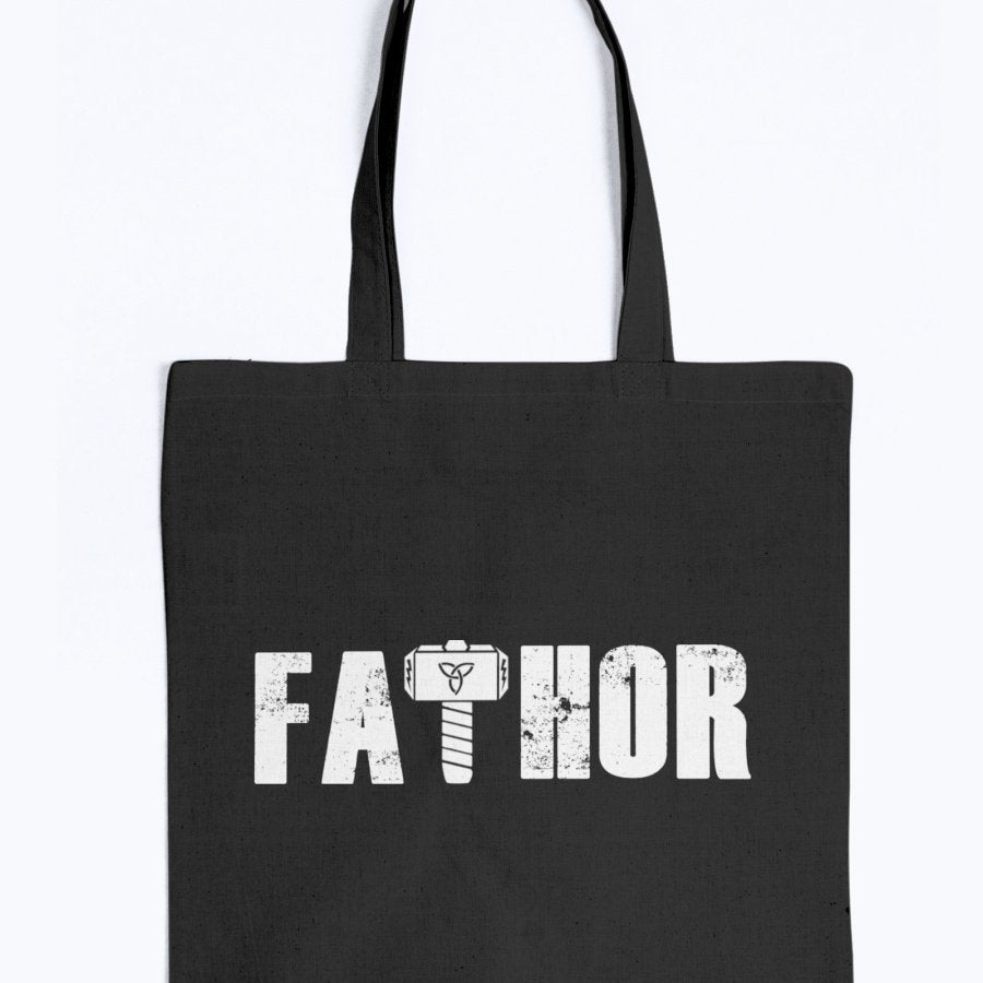 Fathor Tote - White Wording