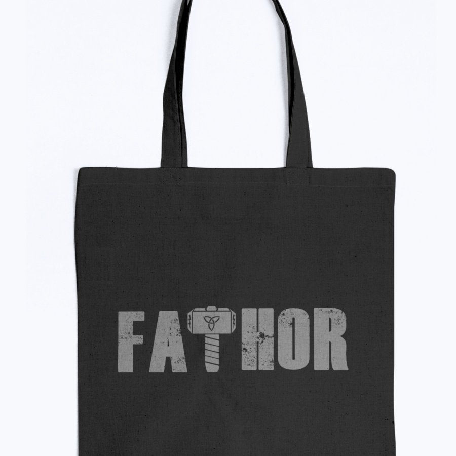 Fathor Tote - Grey Wording
