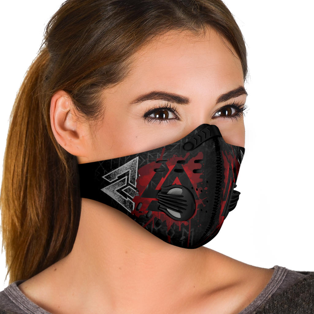 Valknut Premium Viking Face Mask Cover