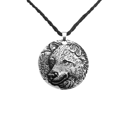 HANDMADE Viking Wolf Spirit Necklace - VikingsBrand