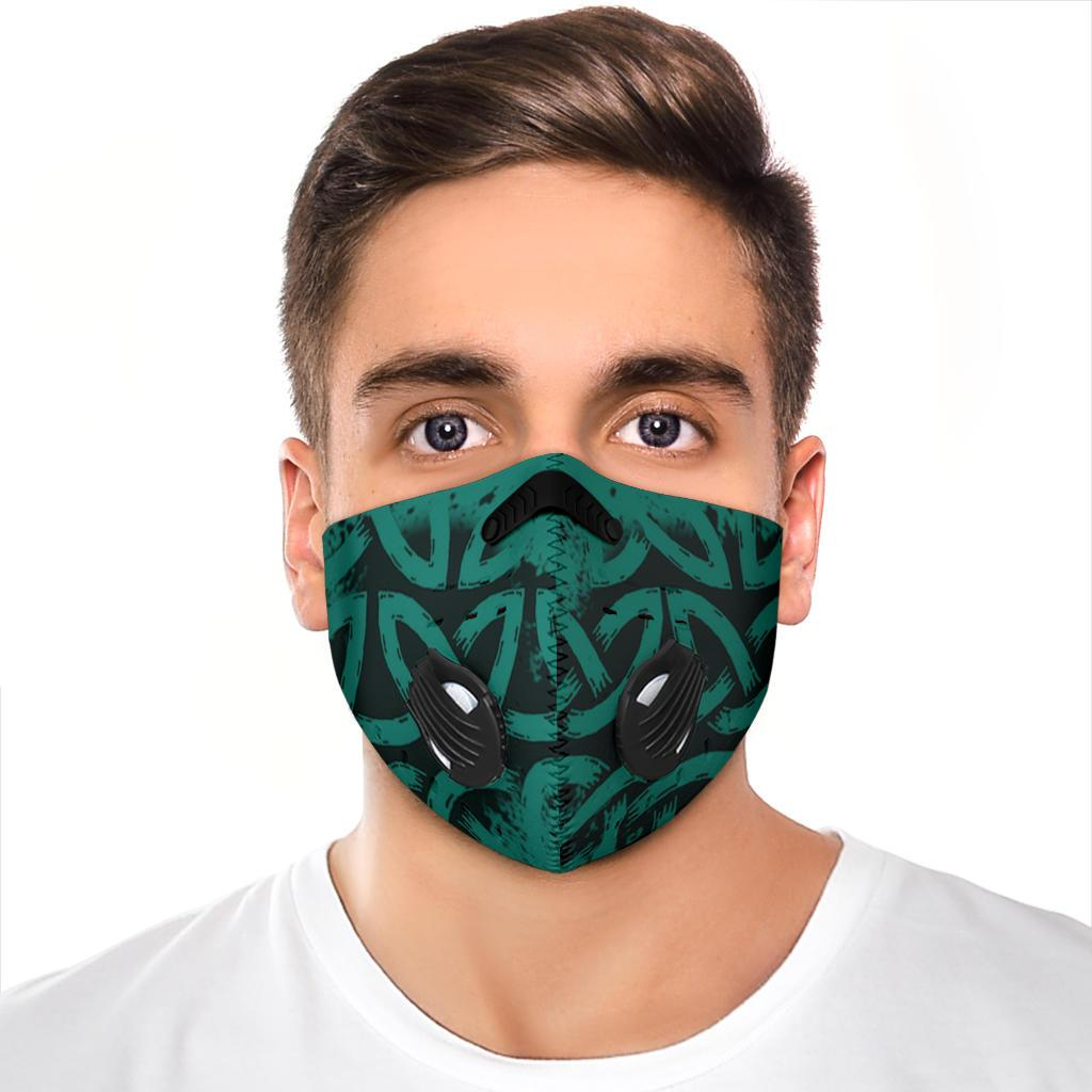 Knot Premium Face Mask Cover - Green