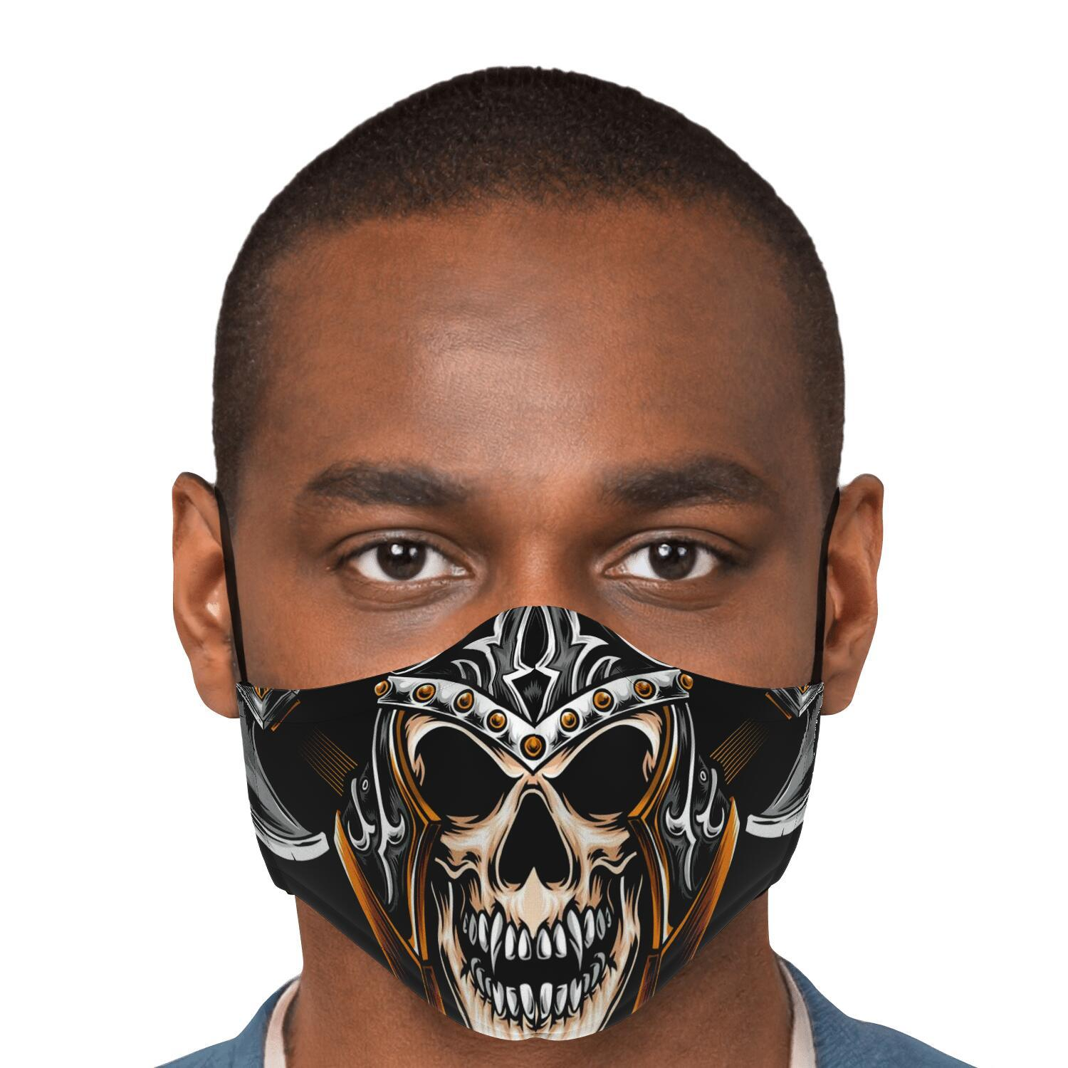 Norse Warrior Face Mask Cover