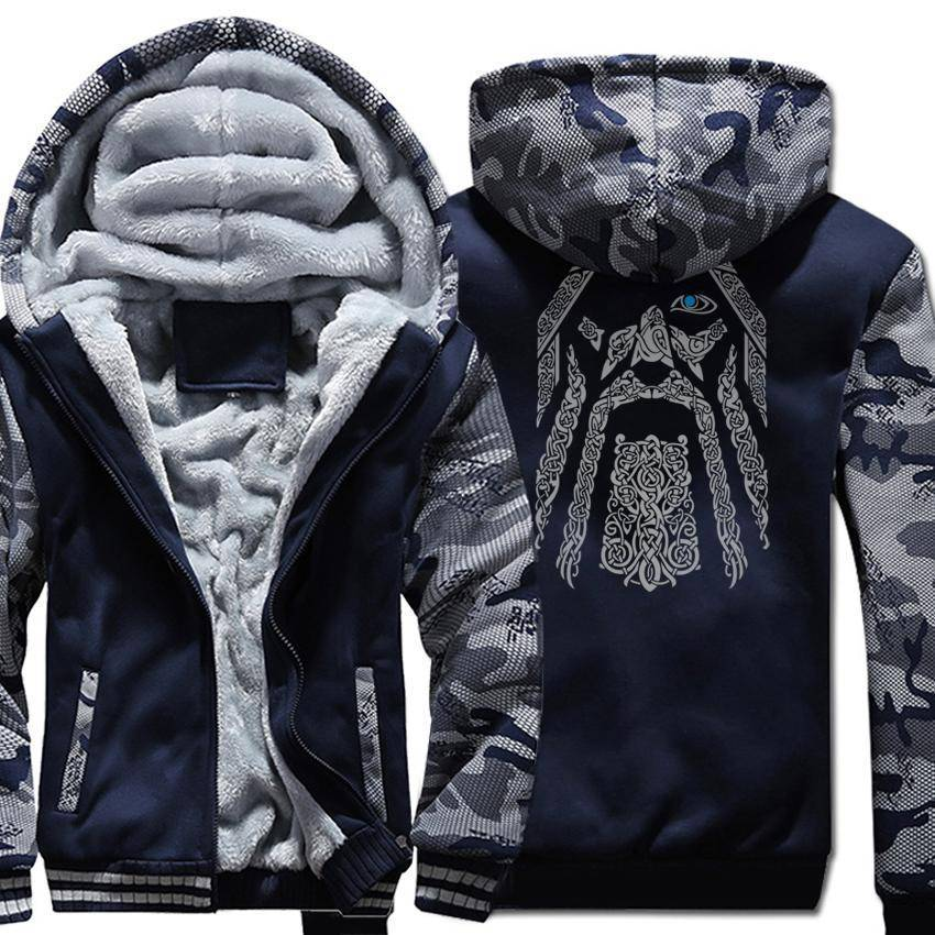Odin Camouflage Hoodie | Free Worldwide Shipping - VikingsBrand