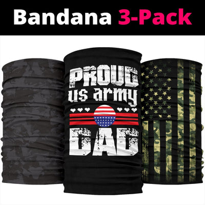 Proud US Army Dad Neck Gaiter | Face Shield