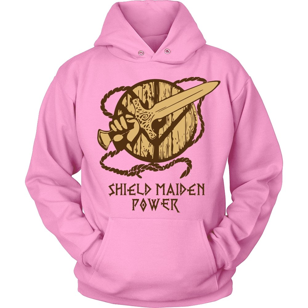 Shieldmaiden Power Tees - VikingsBrand