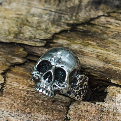 Skull 925 Sterling Silver Unique Viking Ring - VikingsBrand