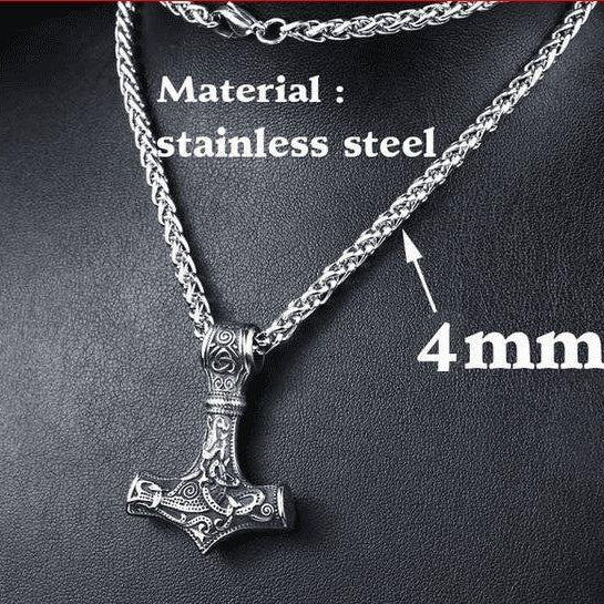 Stainless Steel Necklace - VikingsBrand