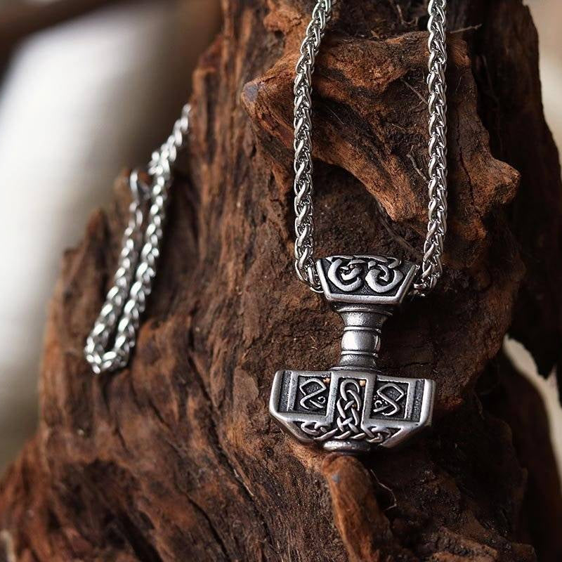 Thor's Hammer Necklace - Small but Powerful - VikingsBrand