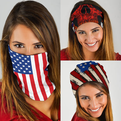 USA Patriot Neck Gaiter | Face Shield