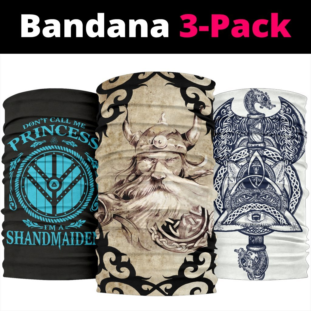 Viking Bandana 3 - Pack - Pack008
