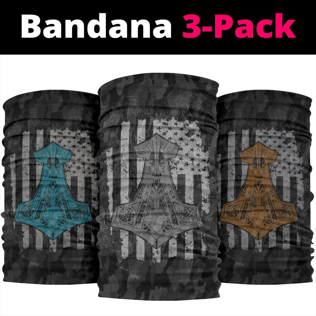 Viking Bandanas Pack of 3 - Pack028