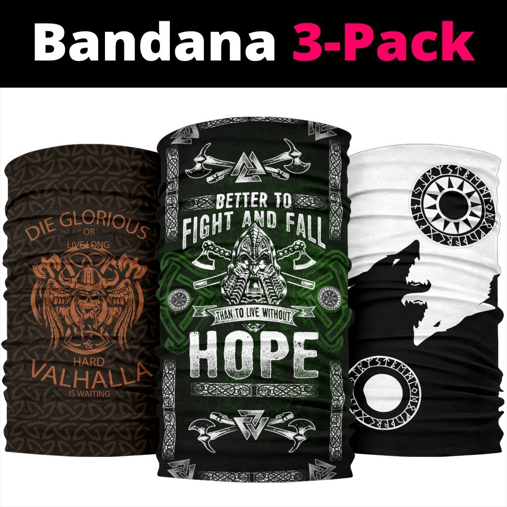 Viking Bandanas Pack of 3 - Pack035