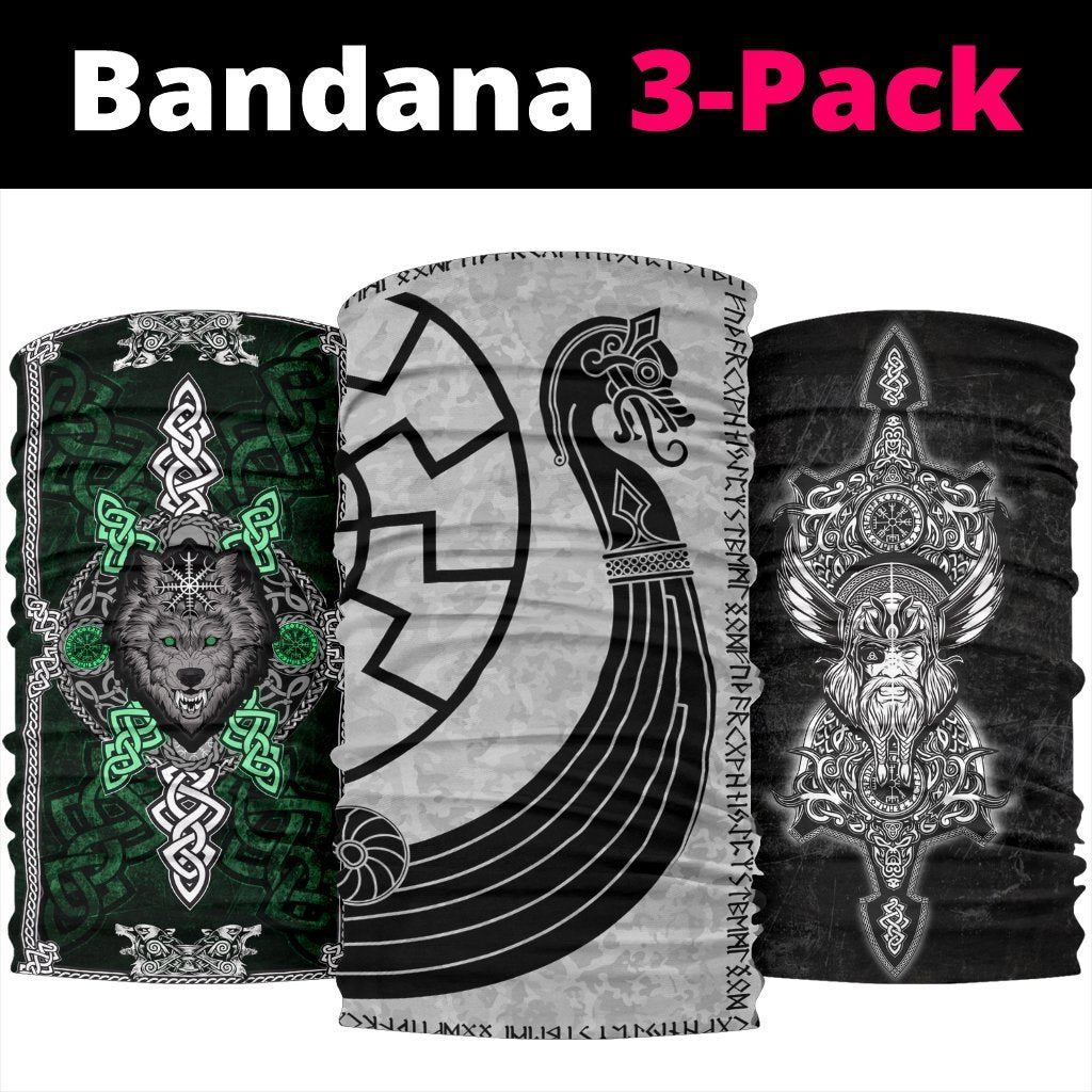 Viking Bandanas Pack of 3 - Pack061