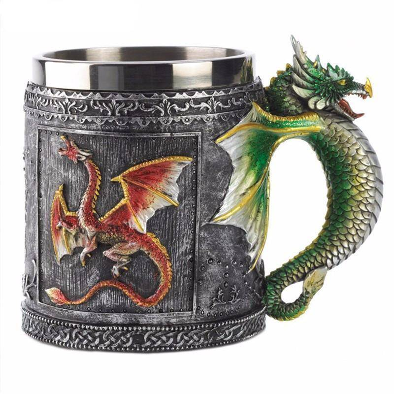 Viking Dragon Mug - VikingsBrand