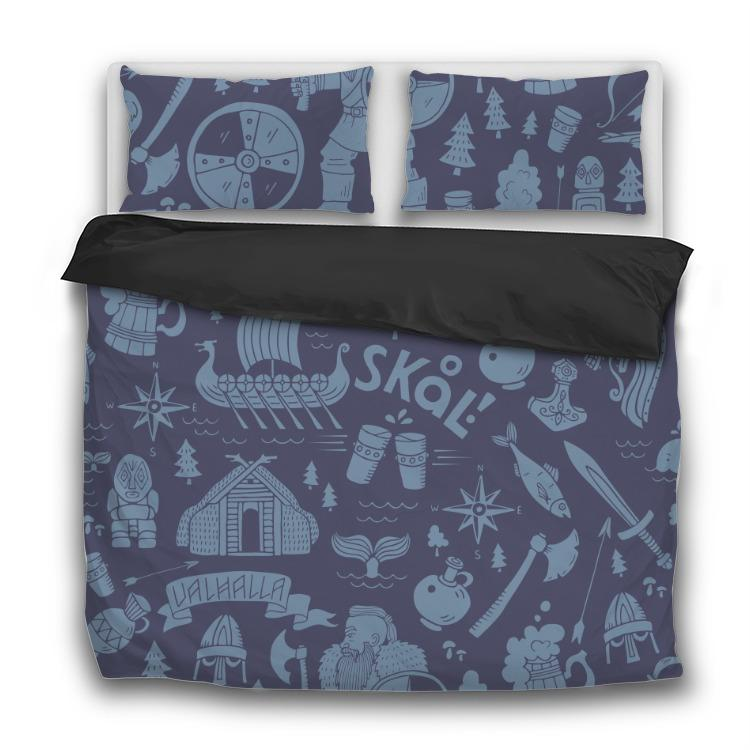 Viking Life - 3 Pcs Bedding Sets - VikingsBrand
