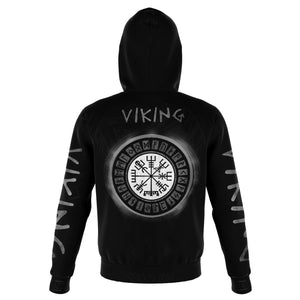 Viking Tatto Style Hoodie - Norse Clothing