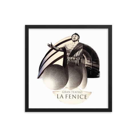 La Fenice : Framed photo paper poster