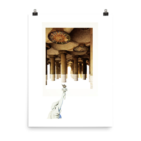 Light My Fire : Photo paper poster