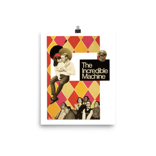 The incredible Machine : Photo paper poster