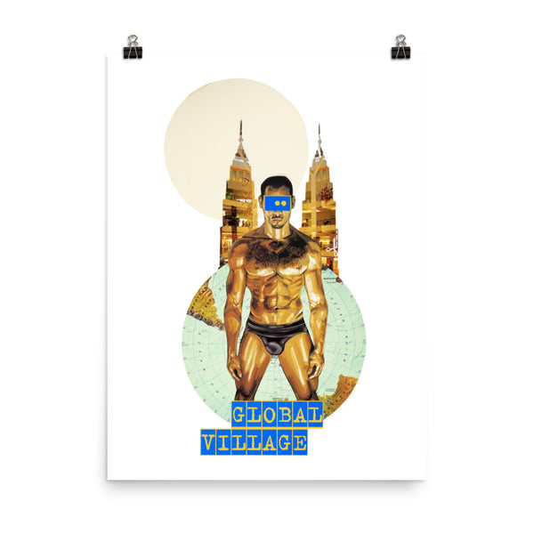 Global Village : Photo paper poster