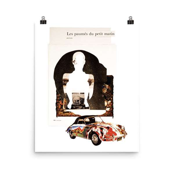 Les Paumés : Photo paper poster