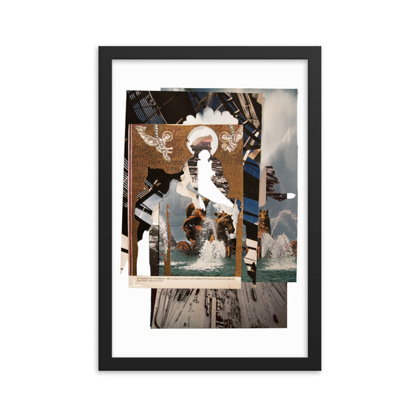Le Roi Guillaume : Framed photo paper poster