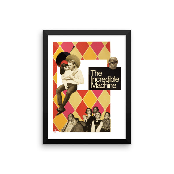 The Incredible Machine : Framed photo paper poster