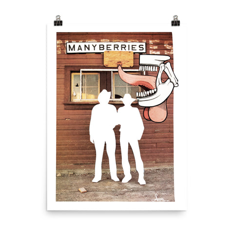 Manyberries : Photo paper poster