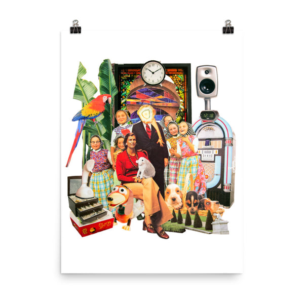 Happy Property : Photo paper poster