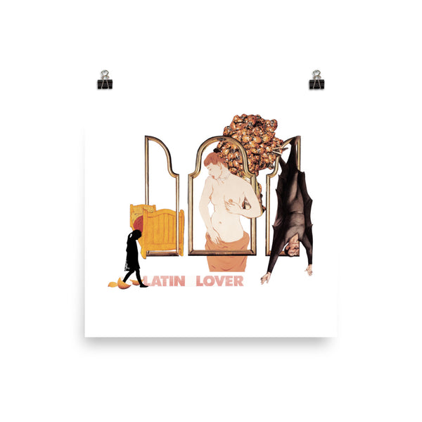 Latin Lover : Photo paper poster
