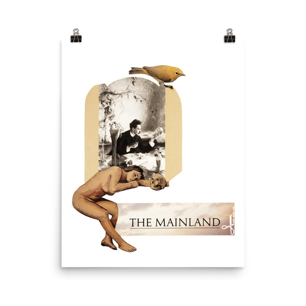 The Mainland : Photo paper poster