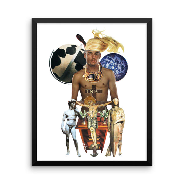 INRI : Framed photo paper poster