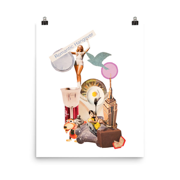 Romantic Hangover : Photo paper poster