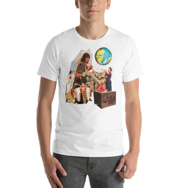 Around the World : Short-Sleeve Unisex T-Shirt