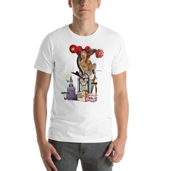 Music Goes On : Short-Sleeve Unisex T-Shirt