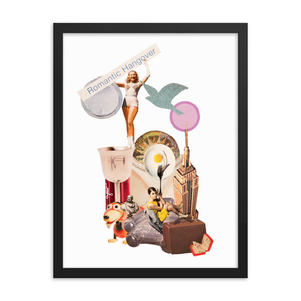 Romantic Hangover : Framed photo paper poster