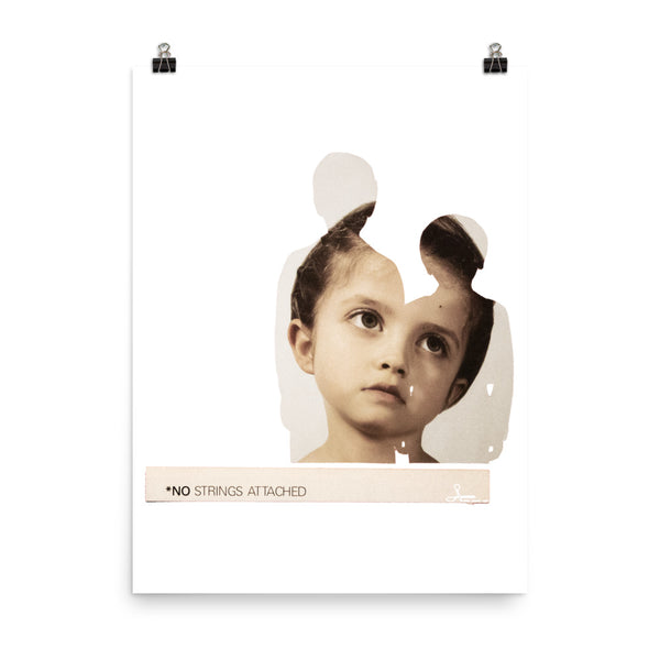 No Strings Attached : Photo paper poster