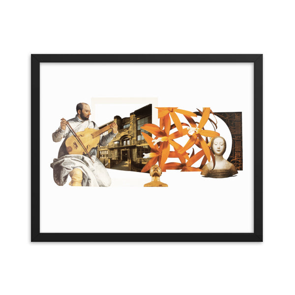 Musique : Framed photo paper poster