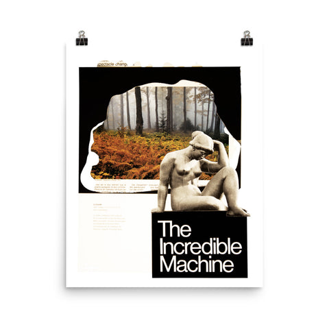Incredible Machine : Photo paper poster