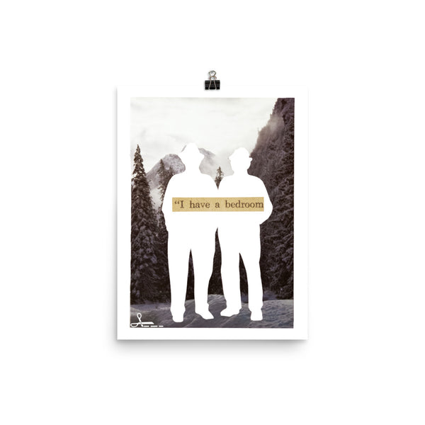 I Have a Bedroom : Photo paper poster